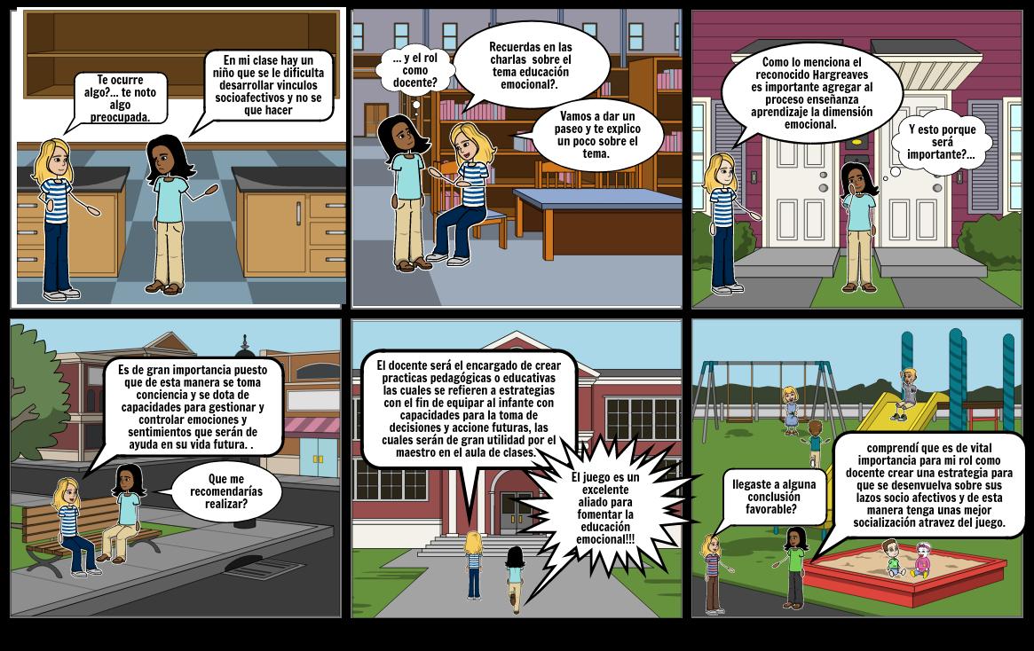 Educación emocional y rol como docente