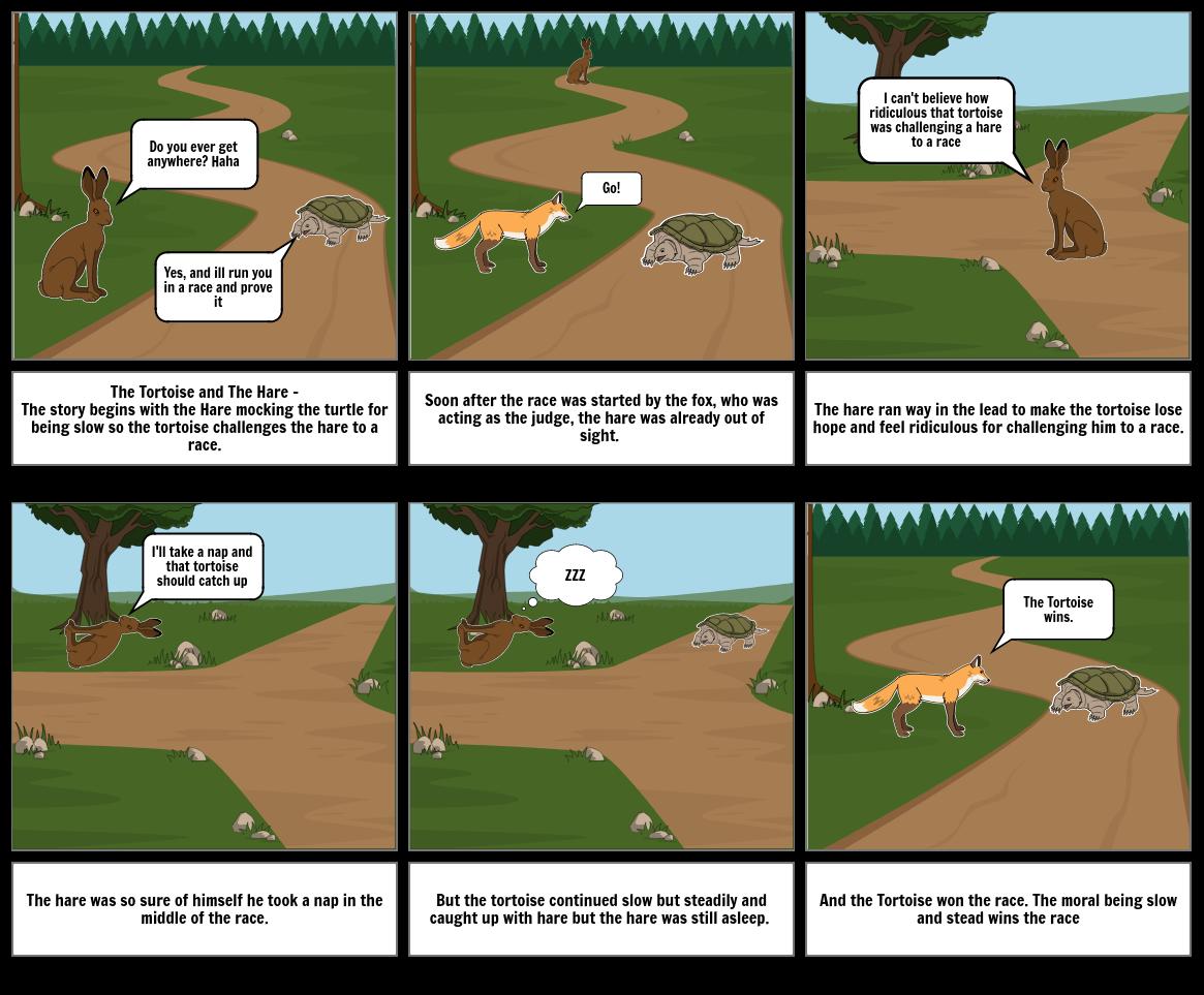 Mythology story board