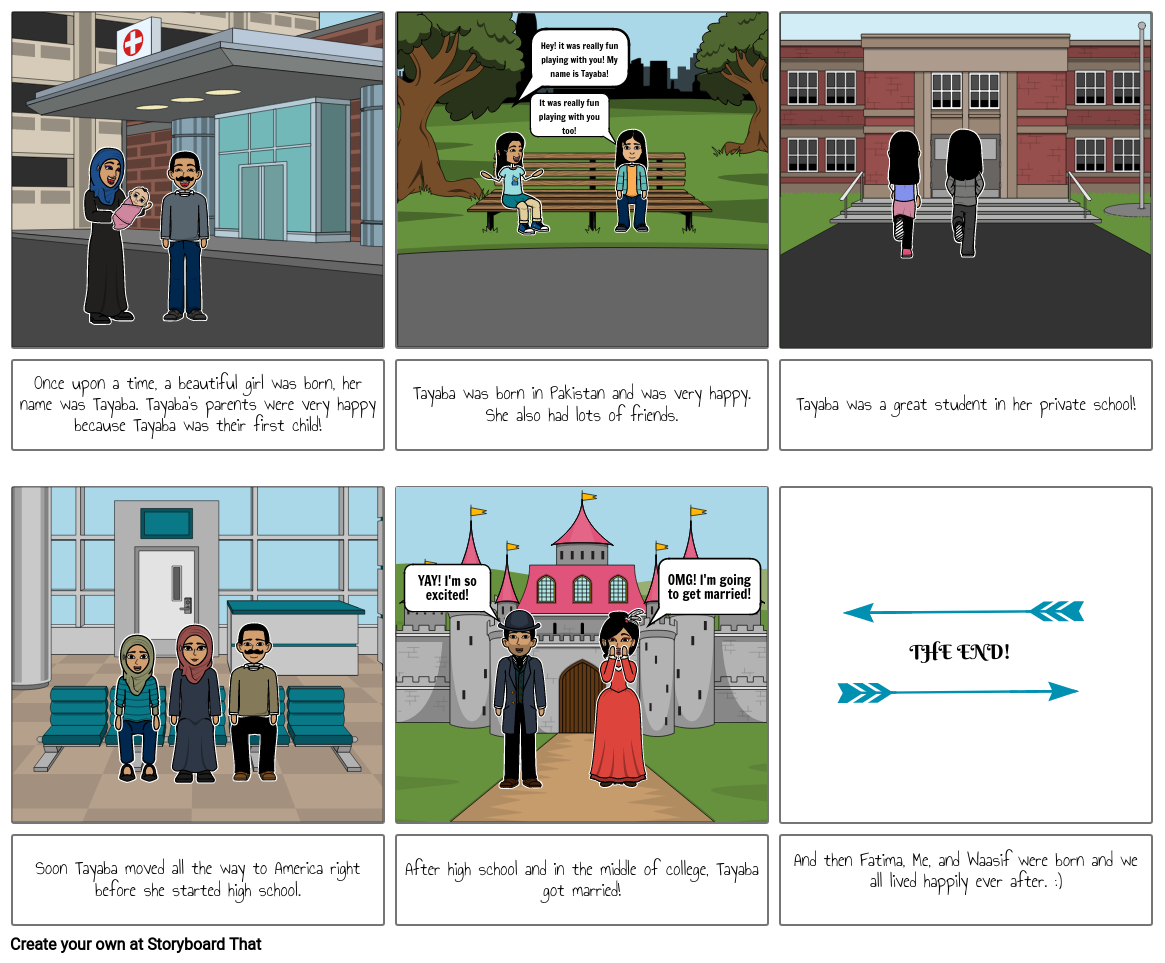 Mother's Day Storyboard