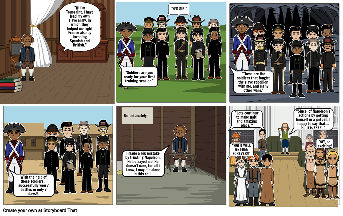 History Comic Strip