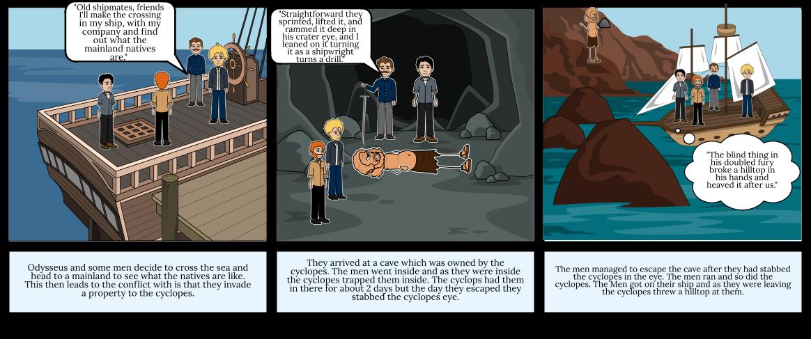 Odyssey Comic Strip