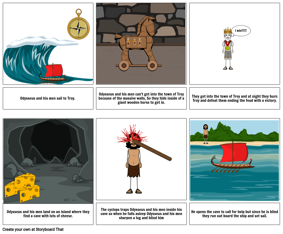 Odysseus stories