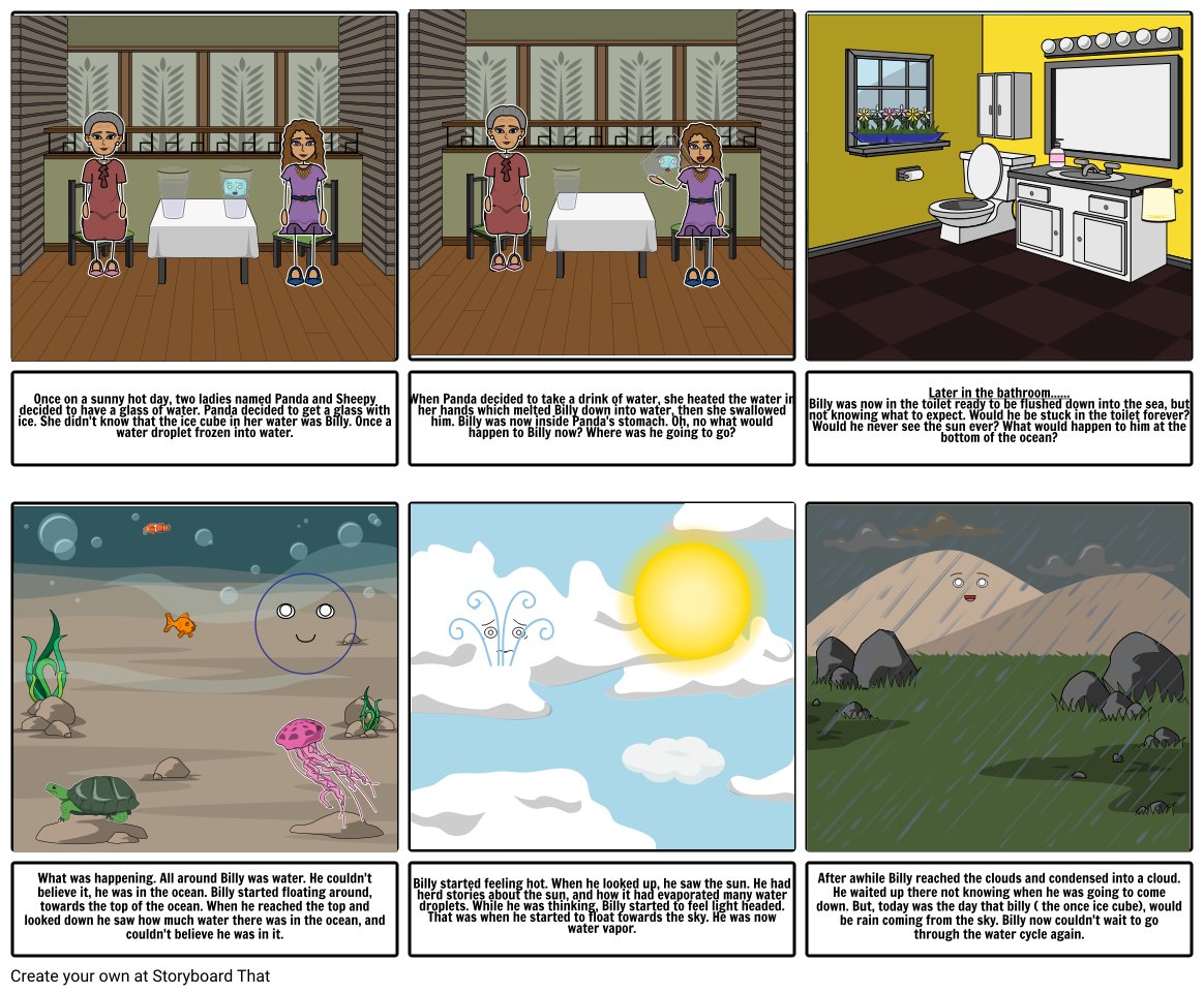 Story Board for science