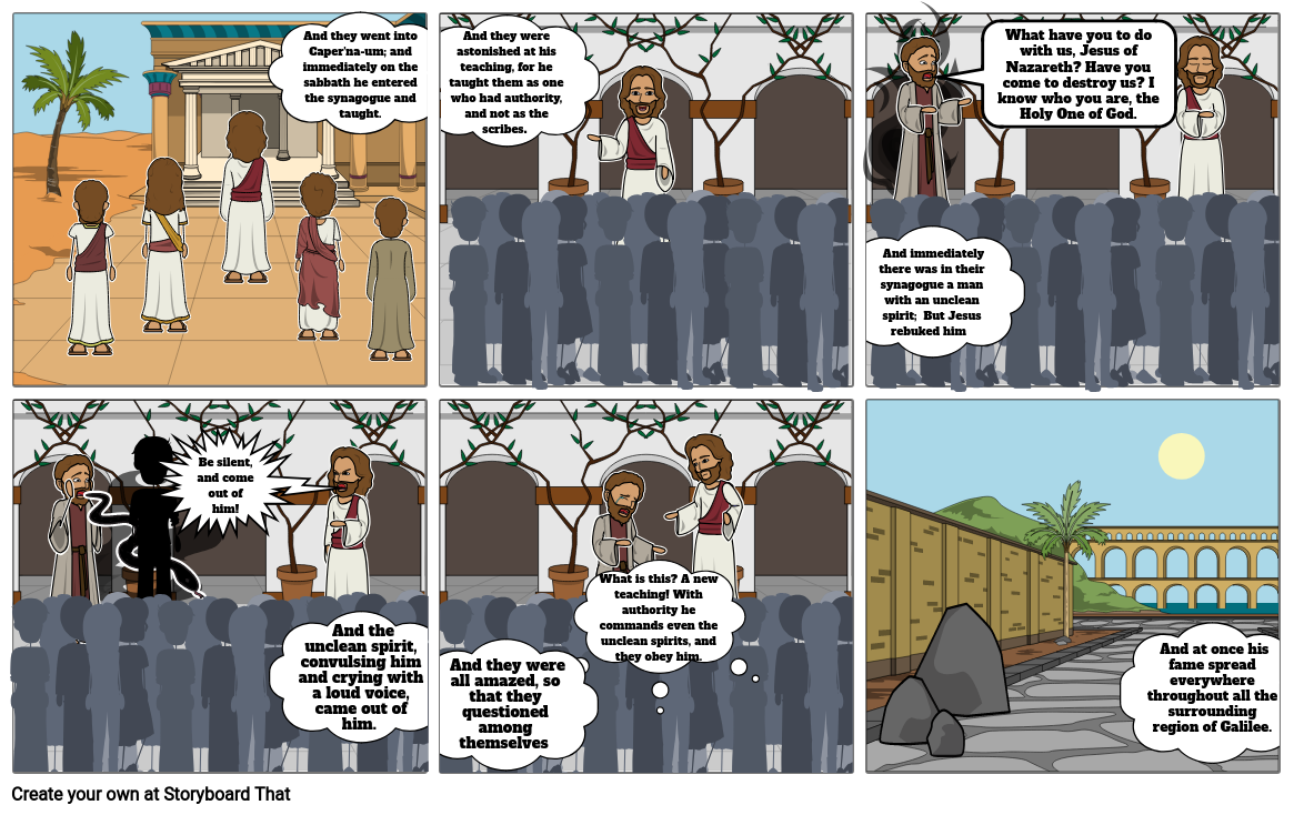 Jesus and the Unclean Spirits