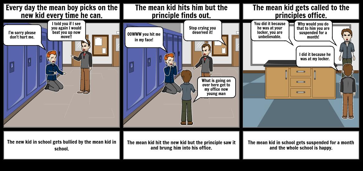 N Zakreski's bullying comic.