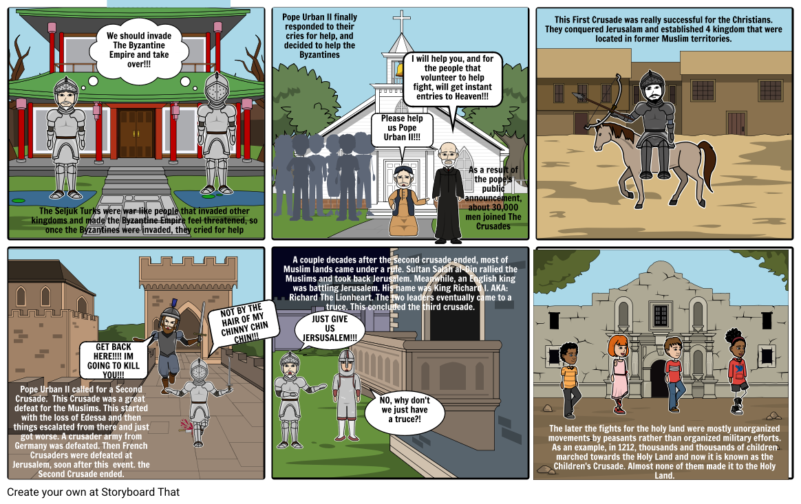 The Crusades History 4th Period Project