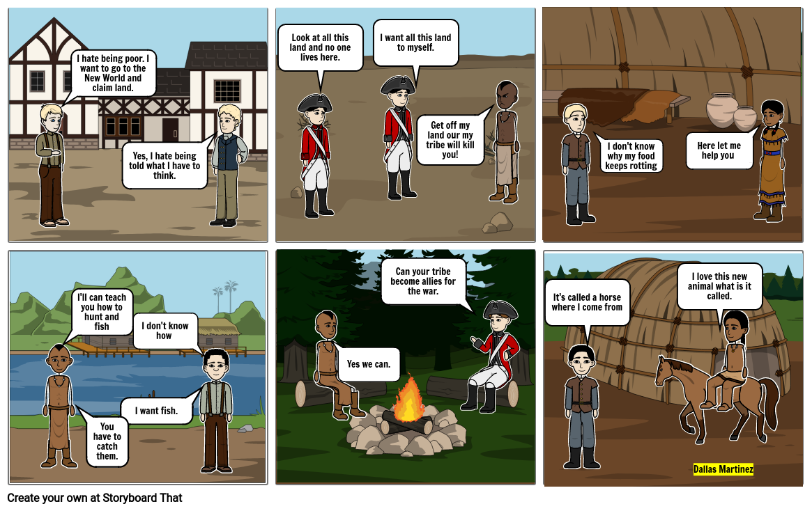 How did colonists and American Indians cooperate