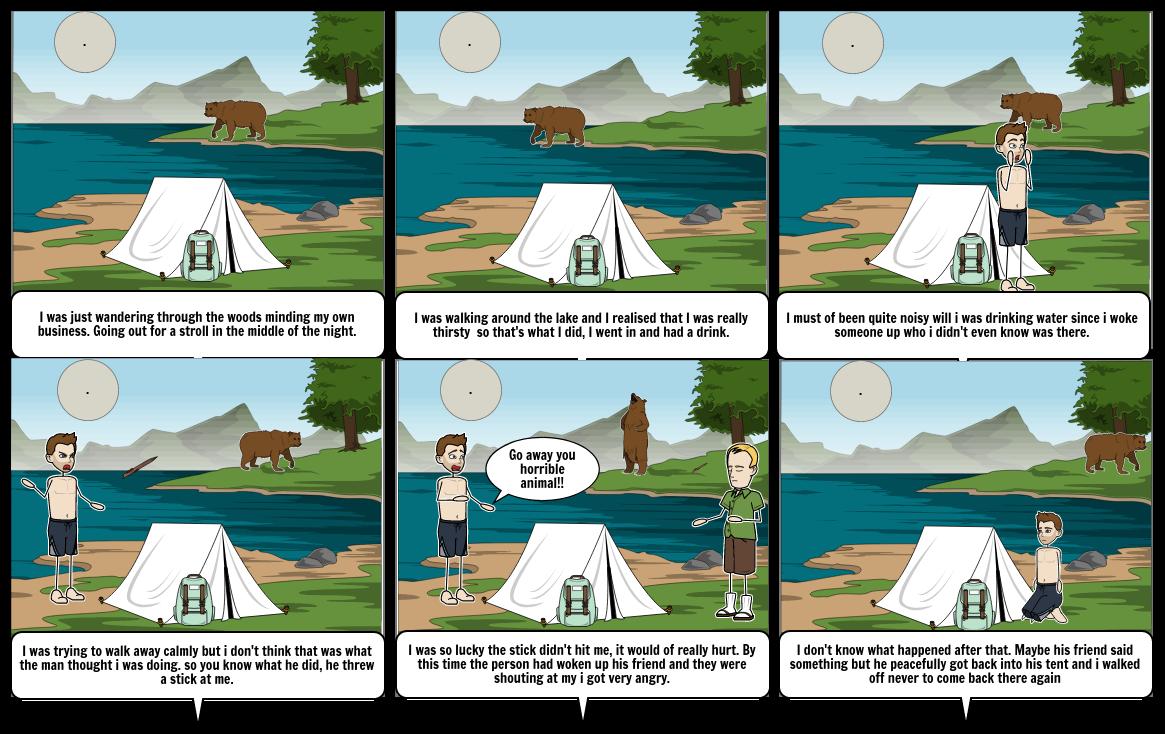 English Homework (Bear encounter)
