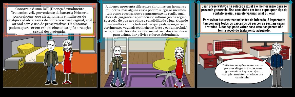 Doenças (STORYBOARD THAT), Eduardo de Melo dos Santos, Turma: 225