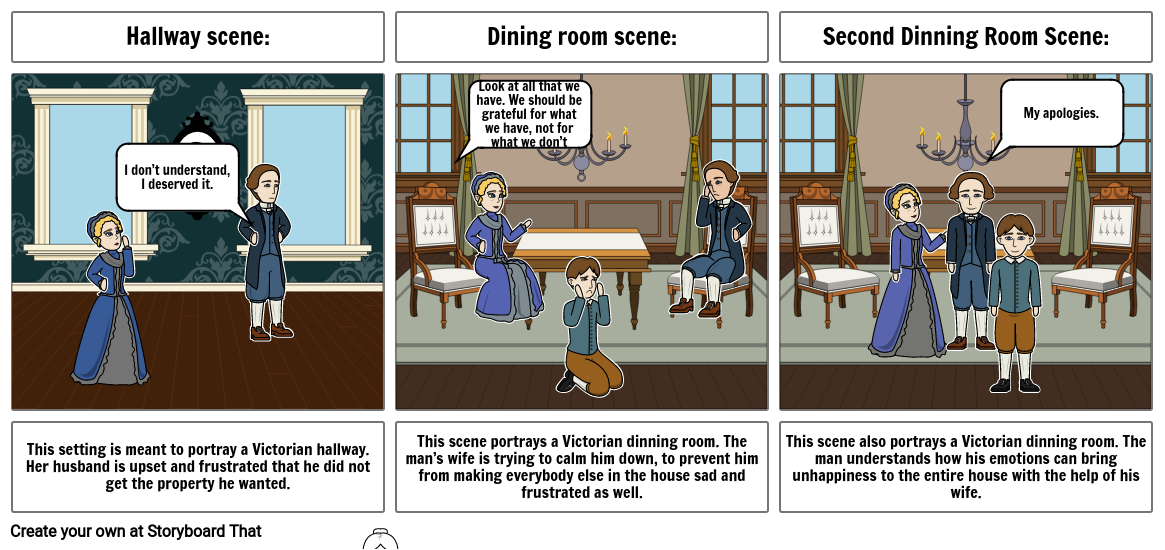 Colleen F. : Jane Eyre Storyboard