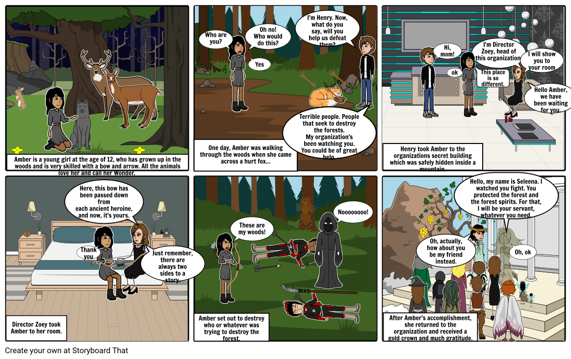 Woodland Comic