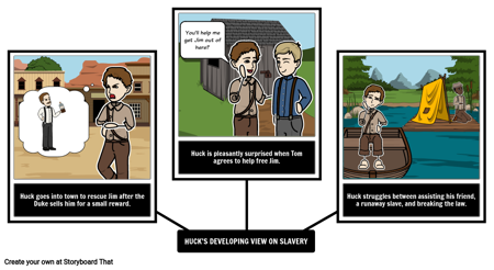 Adventures of Huckleberry Finn Point of View