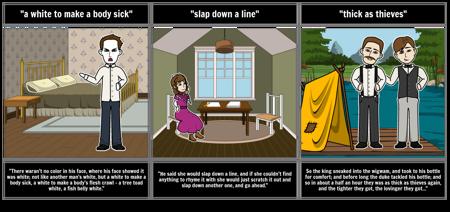 Adventures of Huckleberry Finn Word Choice