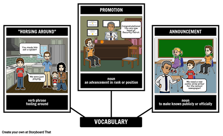 Diary of a Wimpy Kid Vocabulary