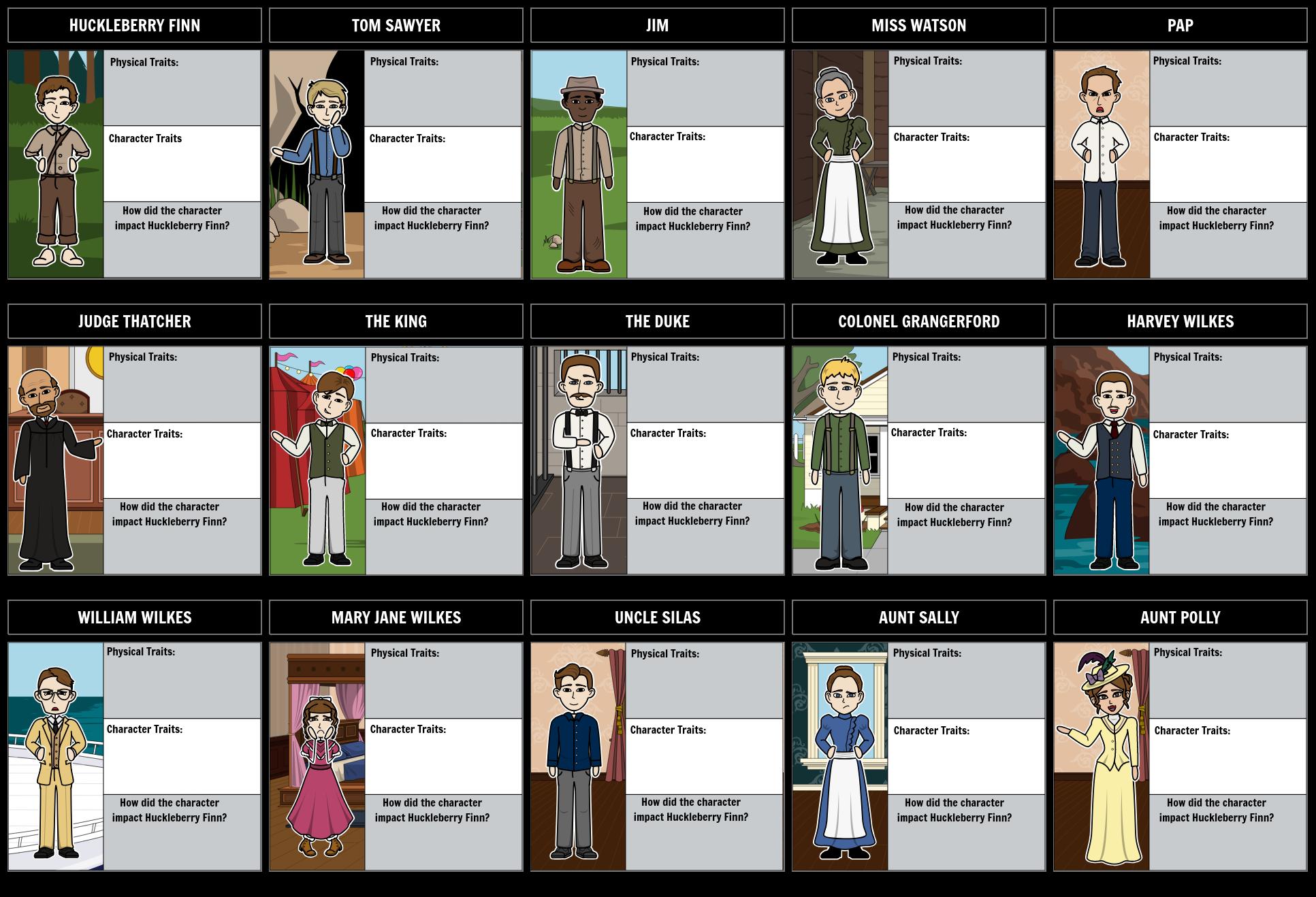 The Adventures of Huckleberry Finn Summary | Huck Finn Lesson Plan