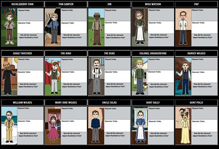 Huck Finn Characters