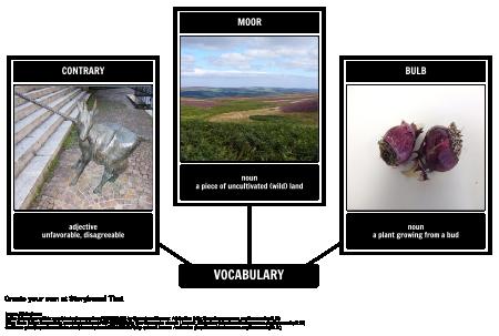 The Secret Garden Vocabulary