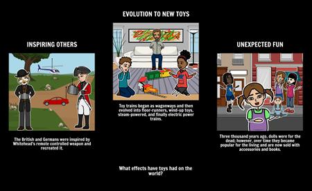 Toys - Textual Evidence