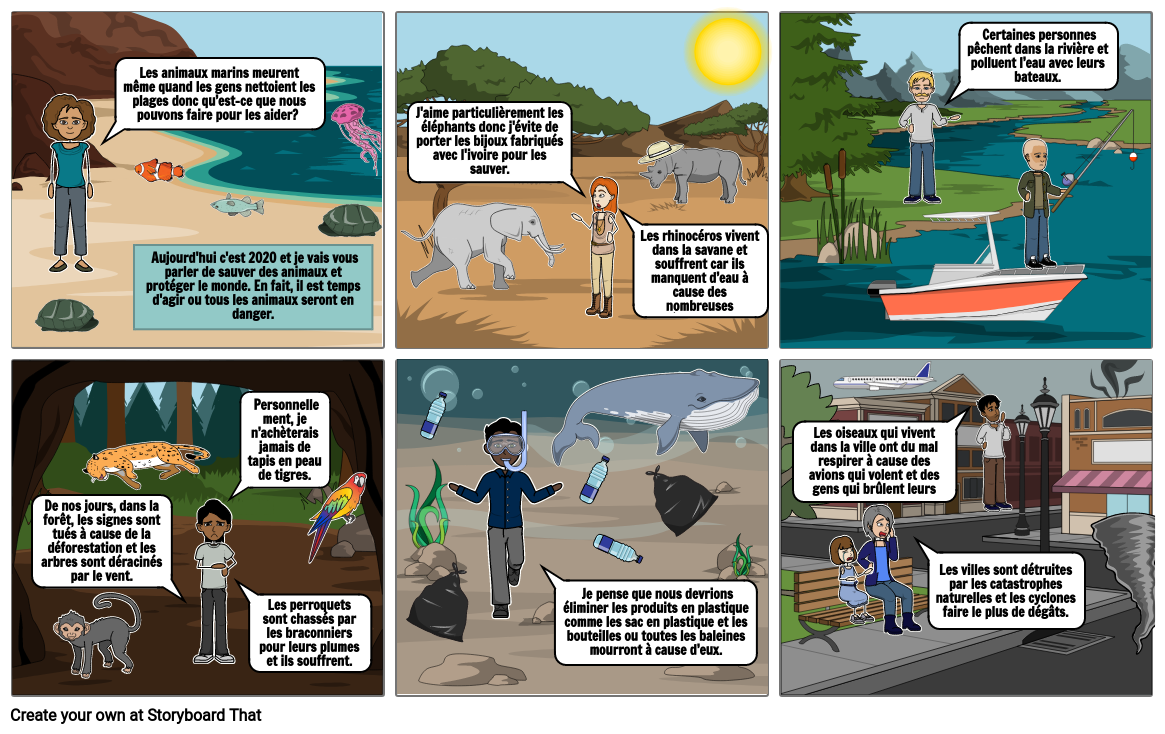 Endangered Animals - Causes and Consequences by Ella