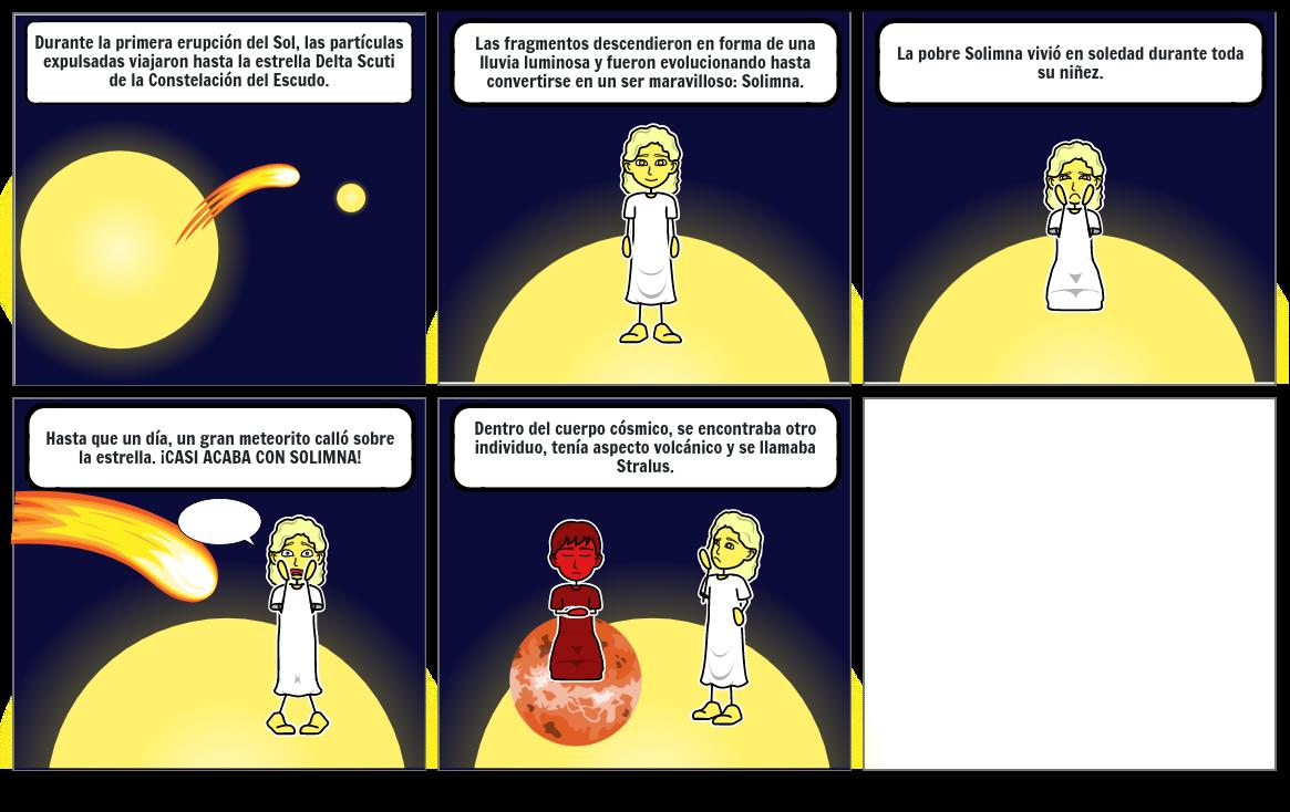 Solimna, la hija del sol