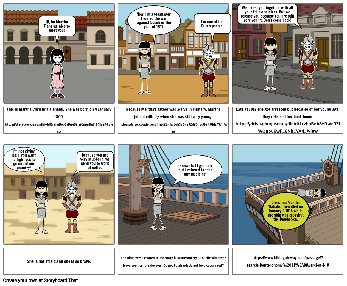 The Life of Martha Christina Tiahahu. Emillie (4.3)