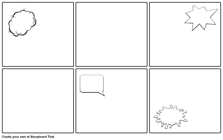 comic strip bubble template - characteristics of an epic hero example storyboard