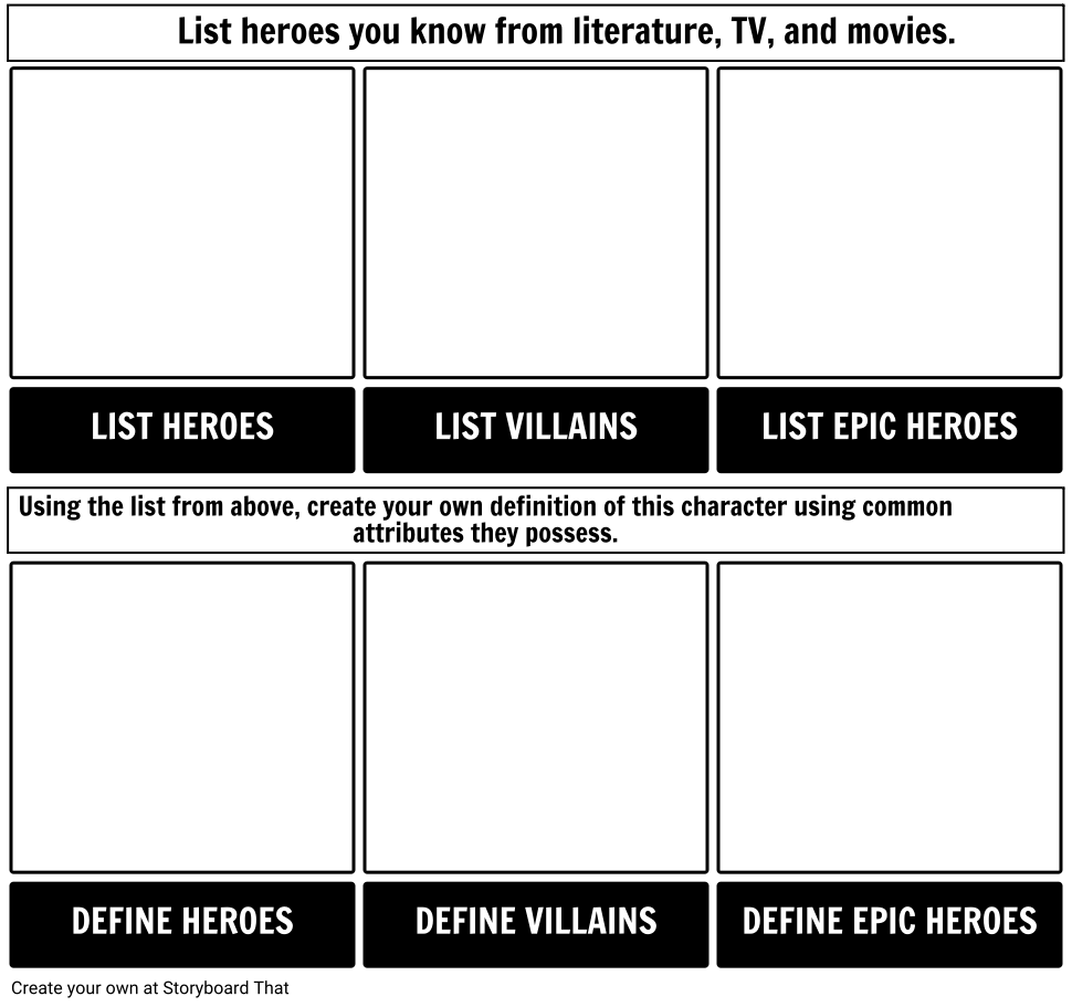 What Is An Epic Hero Characteristics Of An Epic Hero In Literature