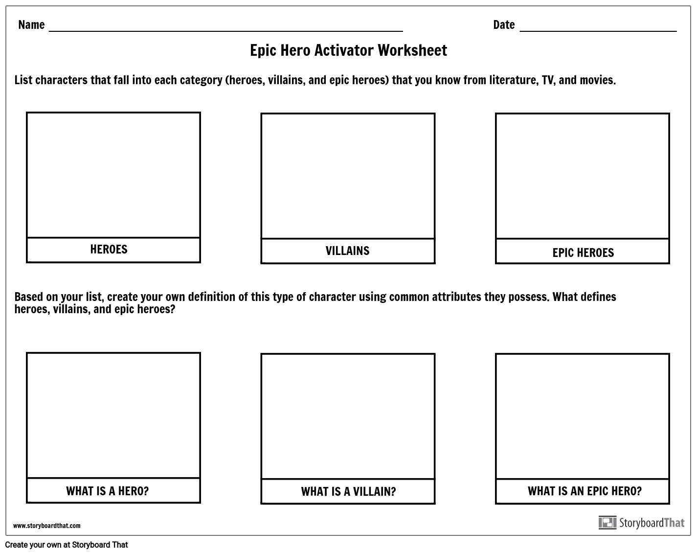 Epic Hero Definition Examples Characteristics Of An Epic
