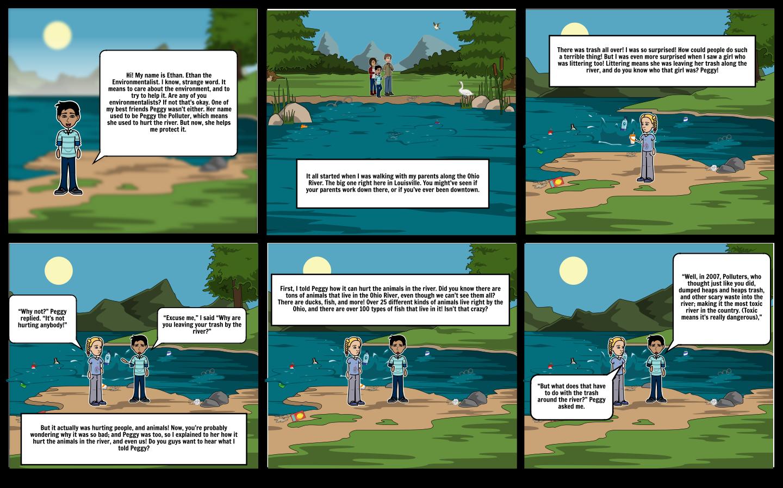 SCIENCE PROJECT Storyboard par emilyloleng
