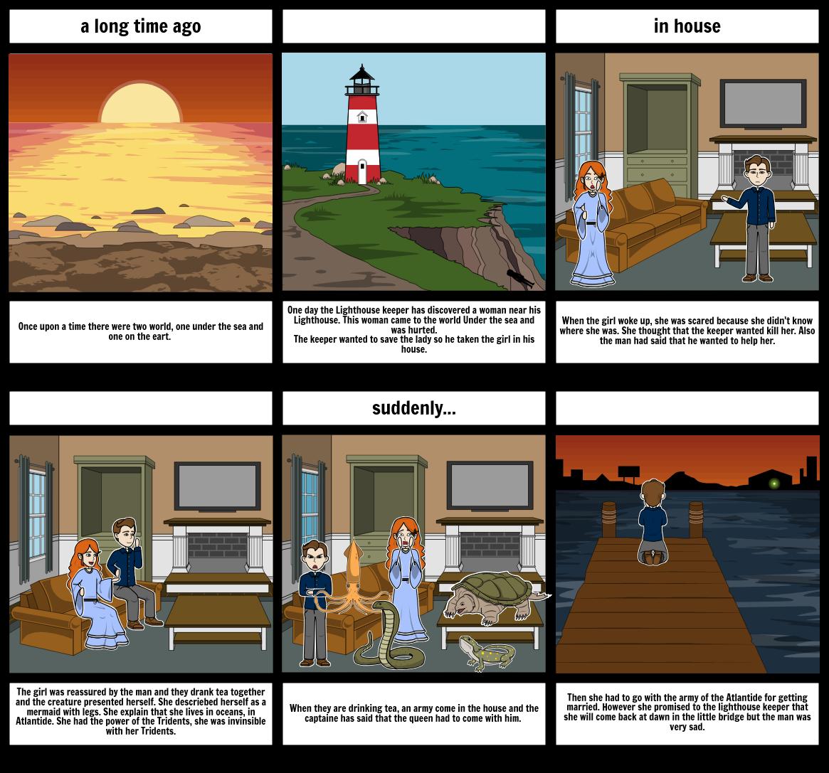 storyboard atlantide