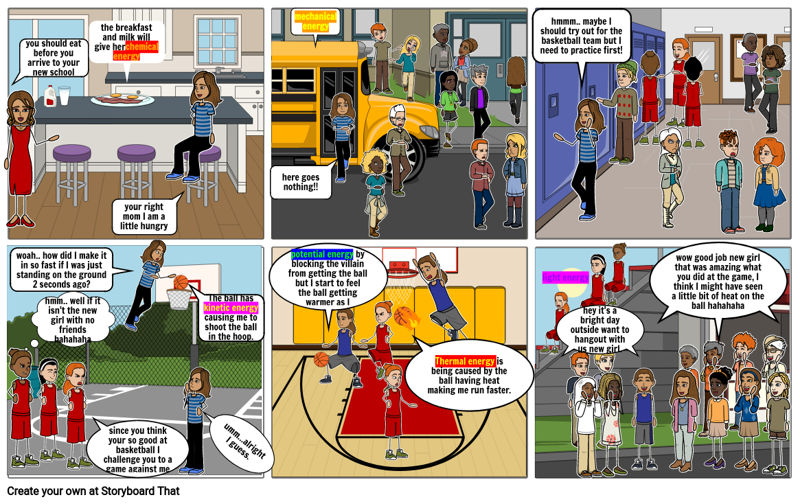 comic book project