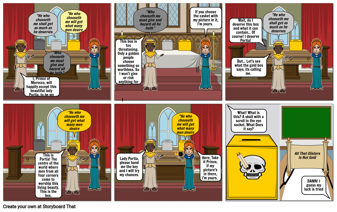 MOV  Comic Strip (Casket Scene)