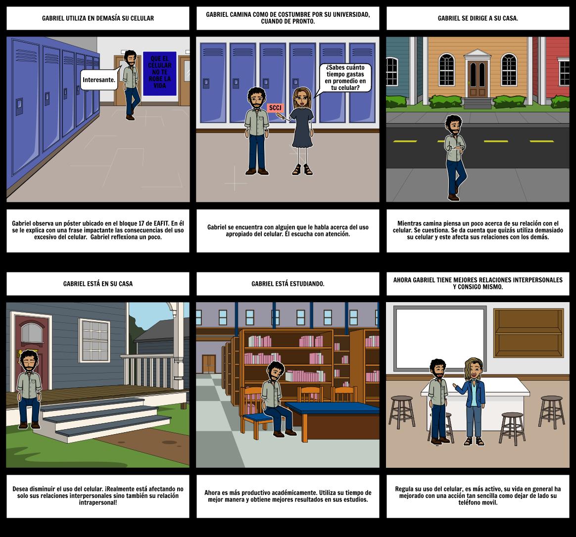 2) INICIATIVA Y CULTURA EMPRESARIAL: Storyboard