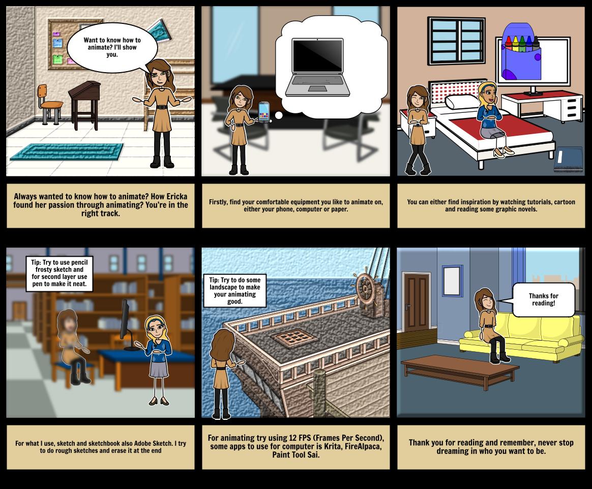 Storyboard Storyboard by erickama3