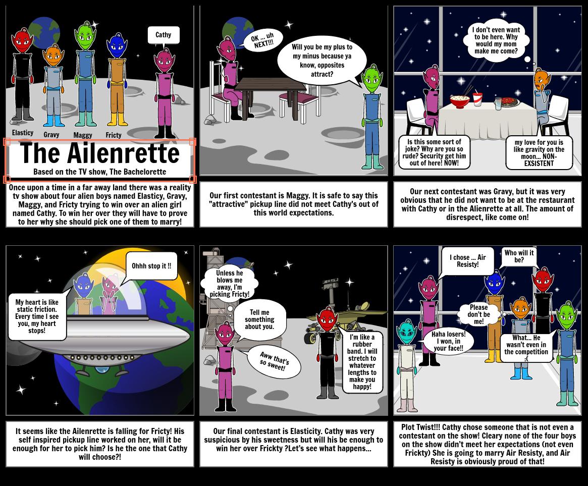 science storyboard