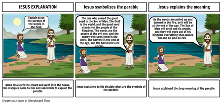 Parable storyboard 2