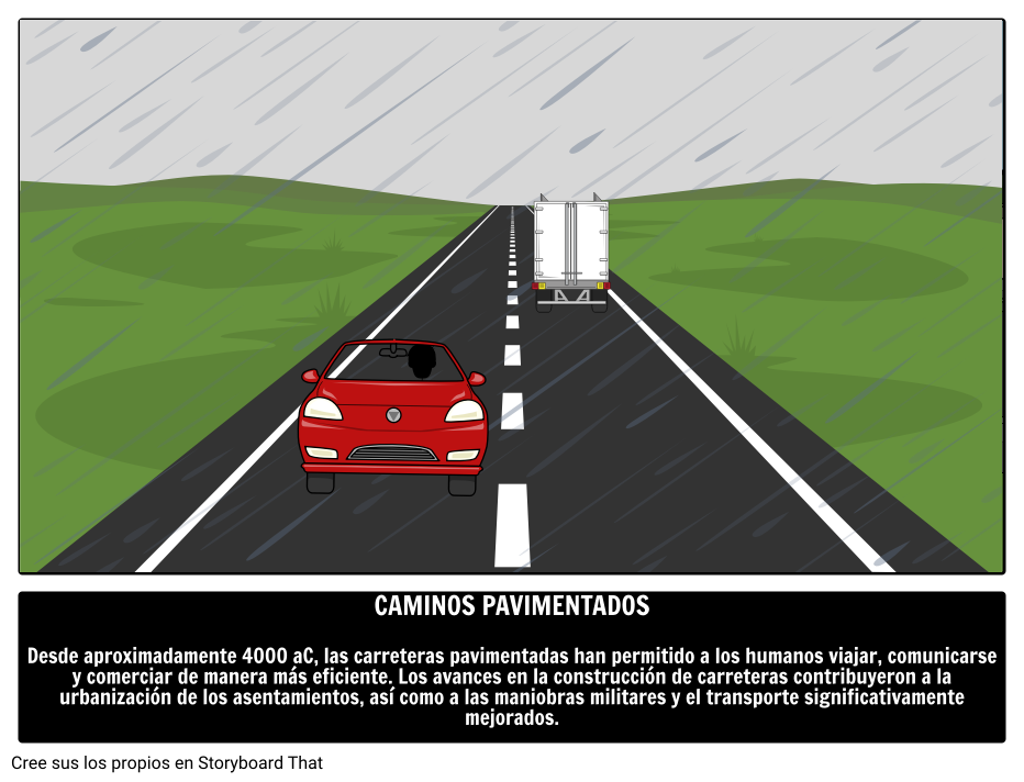 Caminos Pavimentados