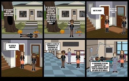 Capítulo 5B Proyecto Español: el niño que cayó