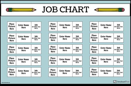 Cartel de la Carta de Trabajo