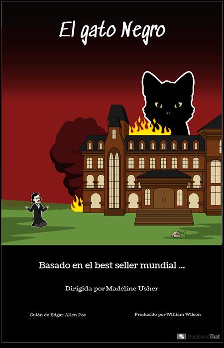 Cartel de la Película Edgar Allan Poe