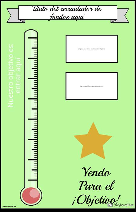 Cartel de Recaudación de Fondos