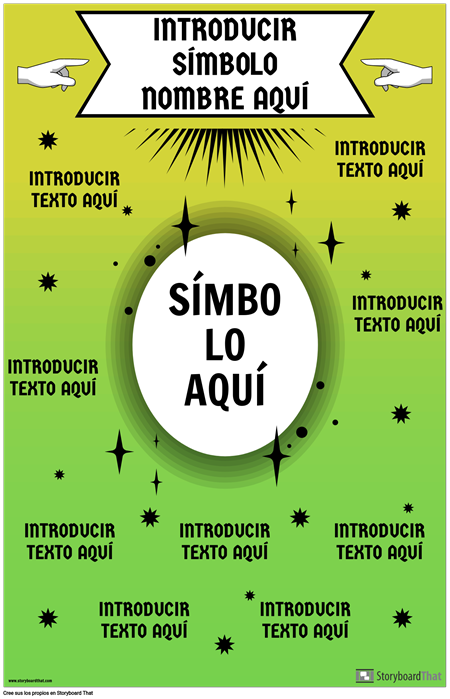 Cartel de Símbolo de Matemáticas