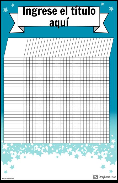 Cartel Gráfico de Estudiante