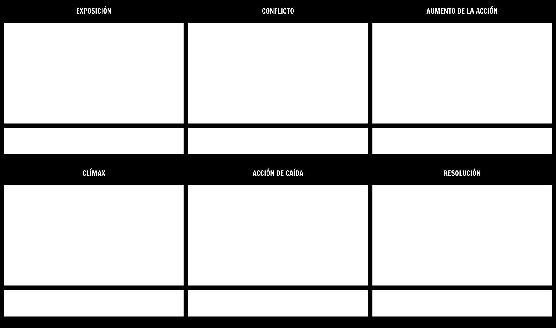 Diagrama Diagrama Planner Storyboard Template