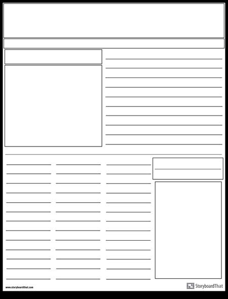 Diseño de Periódico
