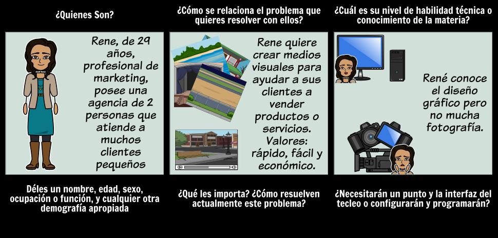 Ejemplo de Storyboard Persona