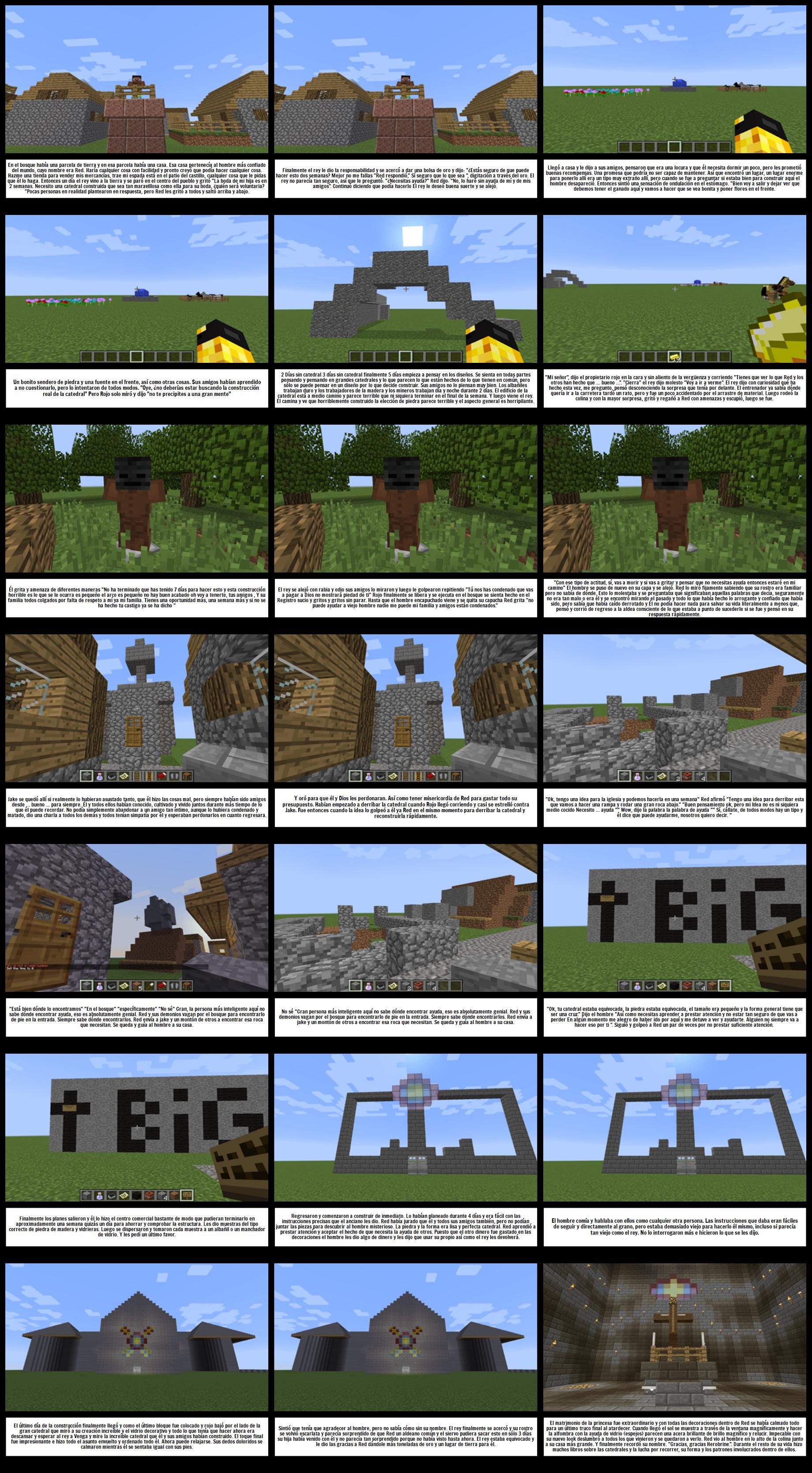 Ejemplo del Estudiante de Minecraft