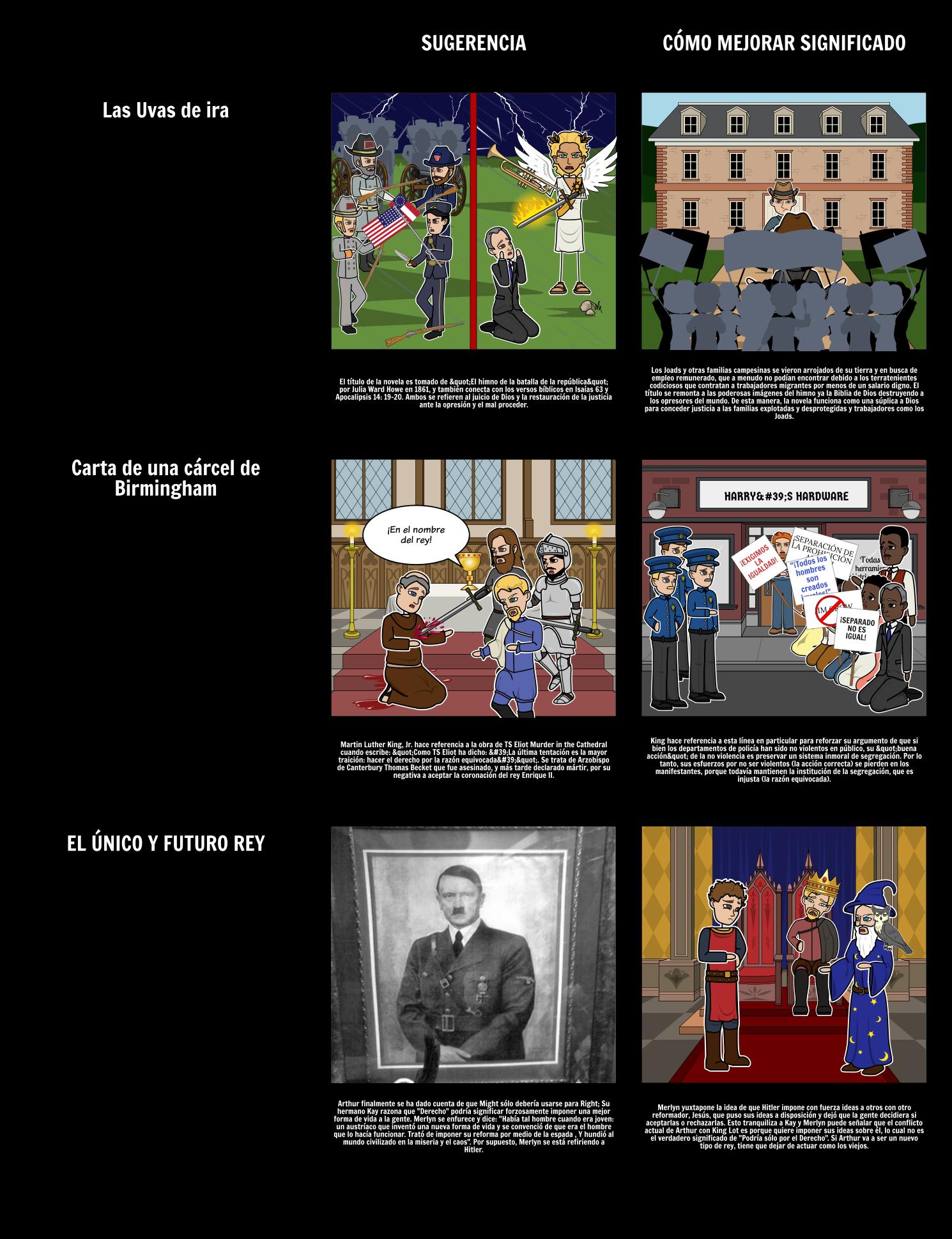 Ejemplos de Alusiones