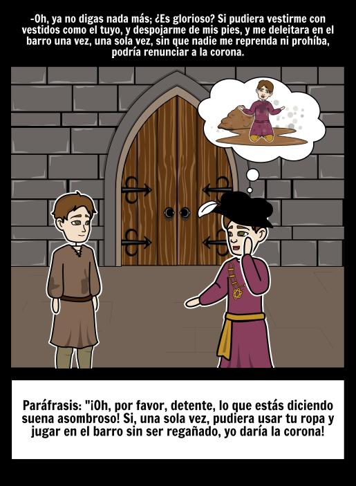 El Príncipe y la Paráfrasis del Mendigo