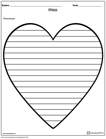 Escritura Creativa - Corazón